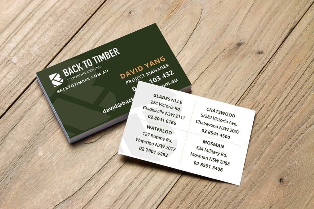 Stationery Design: Back To Timber