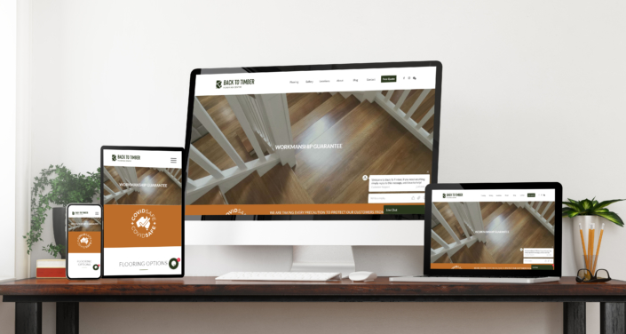 Website: Back To Timber