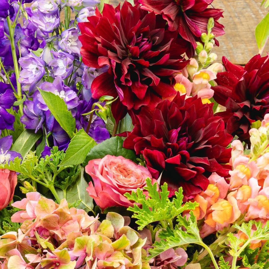 Floral Arrangement Photography